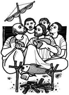 Resultado de imagen para En aquel tiempo, Jesús se apareció otra vez a los discípulos junto al lago de Tiberíades. Y se apareció de esta manera